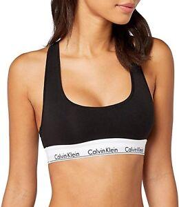 super popular 8921a 9d837 Dettagli su REGGISENO BRALETTE donna Calvin klein nuova collezione  underwear f3785e nero
