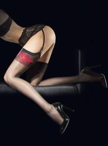 Bas-sexy-nylon-femme-pour-porte-jarretelles-Fiore-etheris-20-den-T2-S-T3-M-T4-L