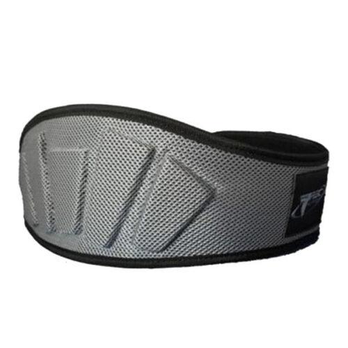 Trec Nutrition Wide Exercise Muscle Building Back Support Belt Silver