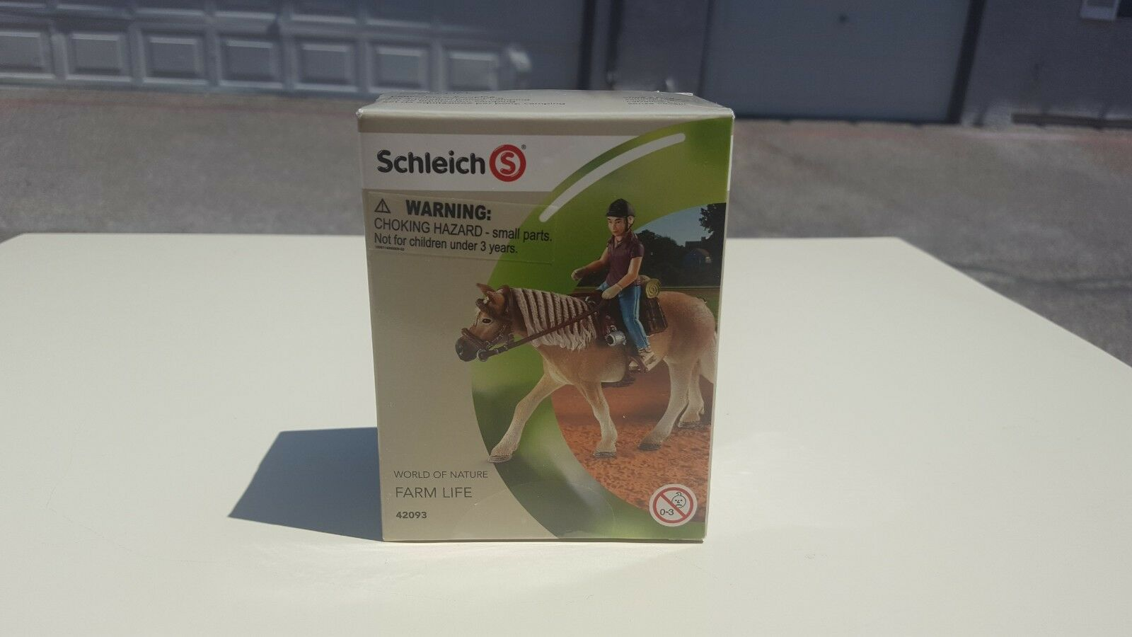 Schleich Pony Riding Set, Camping New in Box Retired