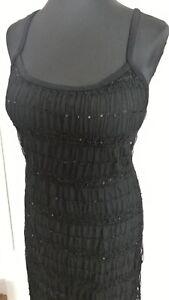 official photos d81e7 37c8d Details zu NEU Spitzen Kleid,Abendkleid,Kleid schwarz Gr. 42,  knielang,Sommerkleid,Stretch