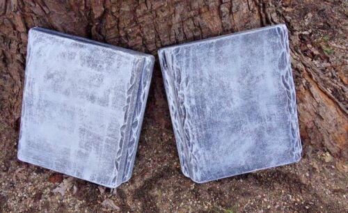 "Bench top mold memorial abs plastic concrete plaster mold 22/"" x 13.5/"" x 2.25/"""