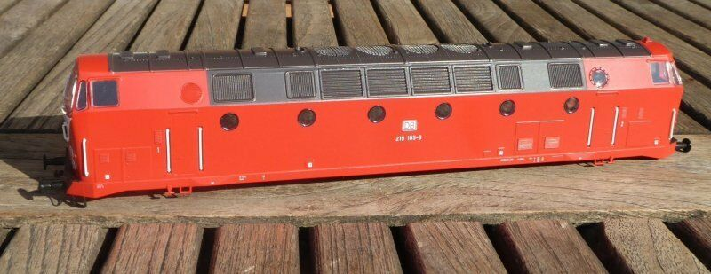 Gützold 34050 Loco Corpo Locomotiva Diesel Br 219 185-6 Db Ag Ep.5/6 Des Bw