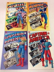 The-Adventures-Of-Captain-America-Sentinel-Of-Liberty-1-2-3-4-complete-set