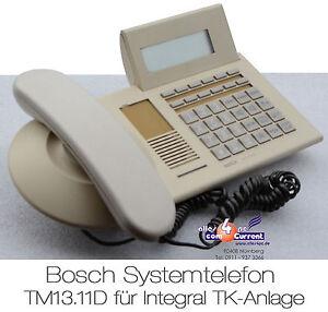 ISDN-TELEFON-SYSTEMTELEFON-BOSCH-TM13-11D-TENOVIS-FUR-INTEGRAL-33-55-TM-13-11-D