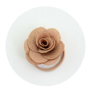 Rope-Ring-Hairband-Fashion-Women-Girls-Hair-Band-Tie-Flower-Bands-Cameo-Brown