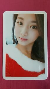 TWICE TZUYU Official PHOTOCARD Base Christmas Edition TWICEcoaster : LANE1 쯔위