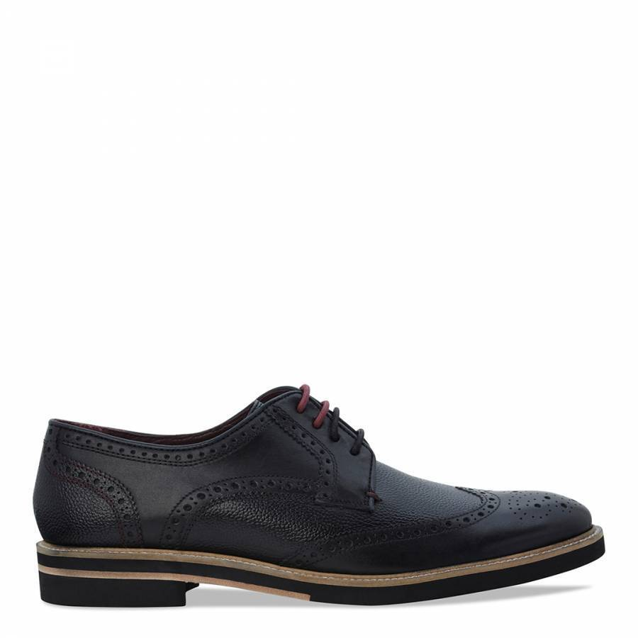 Ted Baker Mens Formal Brogues shoes Size UK 8 10 NEW WITH BOX BLACK