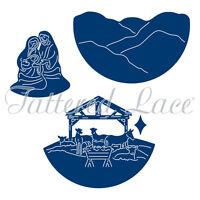 Tattered Lace Essentials Cutting Dies  NATIVITY SCENE ETL224