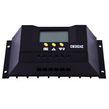 30A Solar Charge Controller 12/24V 360W/720W Solar Battery Regulator LCD display