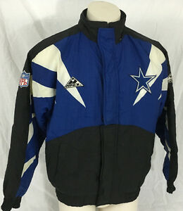 107454a94 Dallas Cowboys Coat NFL Pro Line by Apex One Men s Small Blue Black ...