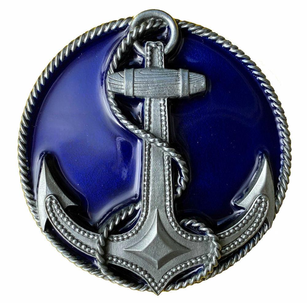 Anchor Belt Buckle with Belt, Sailor, Ship, Nautical, Sea, Ocean, Dragon Designs