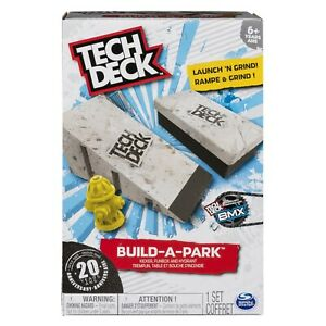 Tech-Deck-Build-A-Park-Ramp-Bench-and-Hydrant-Ramps-for-Tech-Deck-Boards