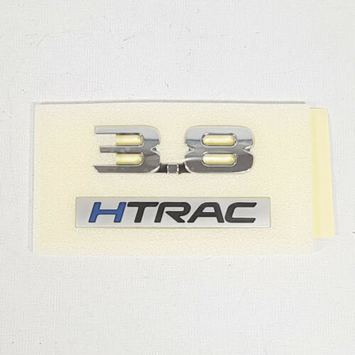 Genuine Rear Trunk 3.8 Lettering Emblem Badge For Hyundai Genesis Sedan 2017+