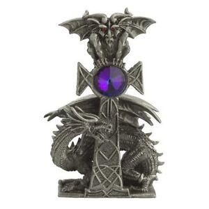 Conspirators Pewter Myth and Magic - Mermaid and Dragon Figurine
