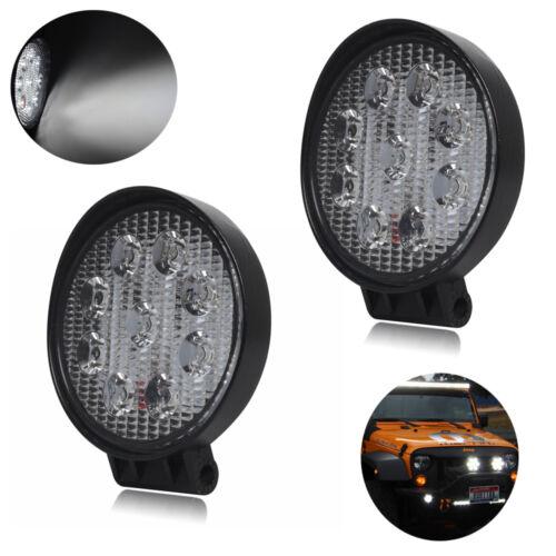 10x//1x LED Work Light 27W Spot Flood Beam Car Boat Offroad Lamp SUV//ATV 12V 24V