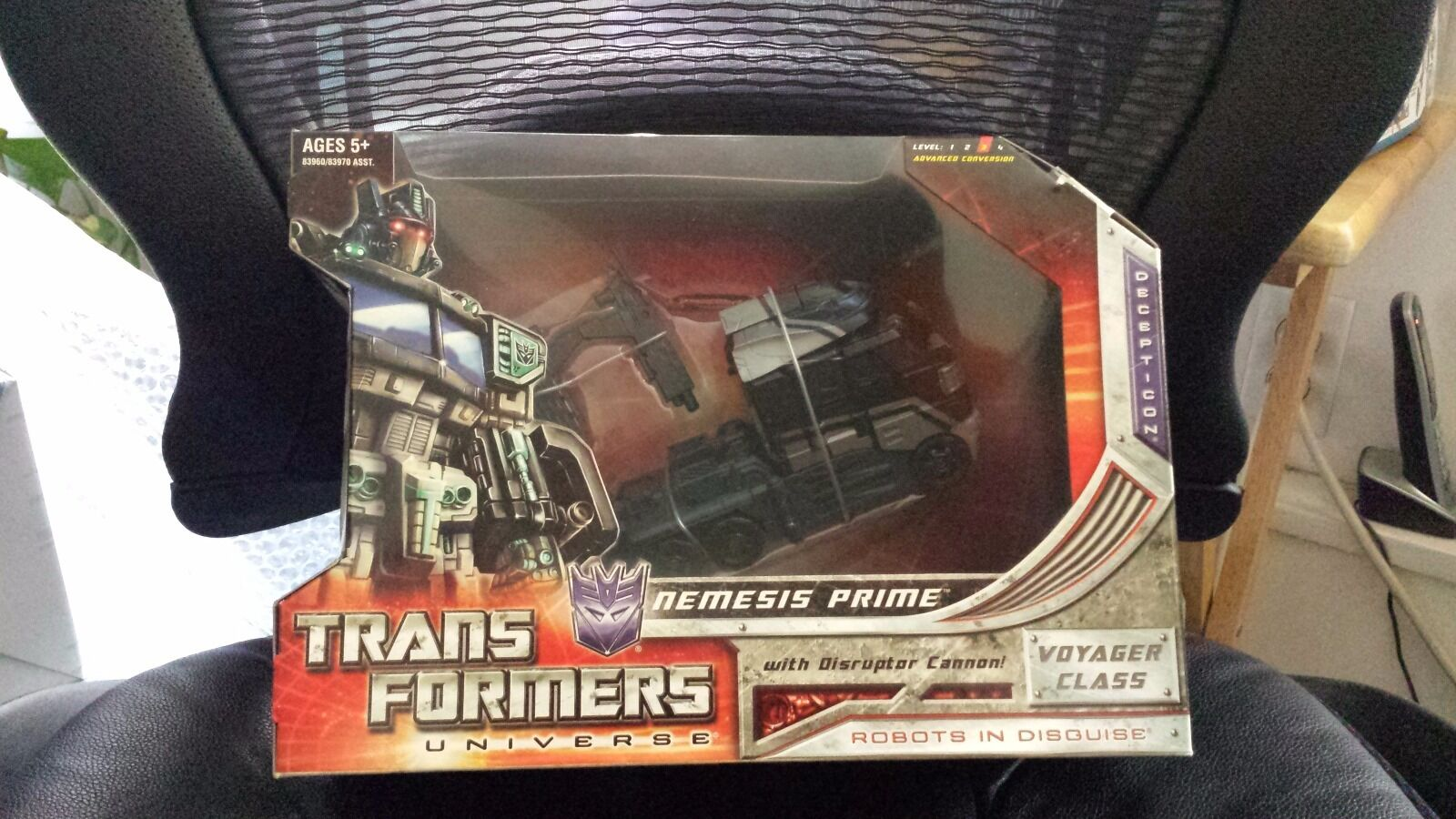 Fansproject Transformers Shadow Commander Trailer & Universe Nemesis Prime MISB