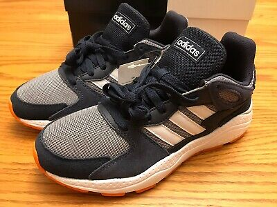 Adidas CRAZY CHAOS CRAZYCHAOS J - Youth US 5 Running EF5308 Gray/Navy/Orange NEW | eBay