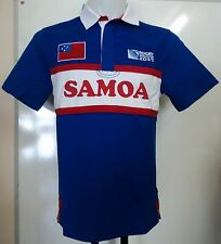 SAMOA RWC 2015 S/S RUGBY JERSEY BY CANTERBURY SIZE MEDIUM BRAND NEW WITH TAGS