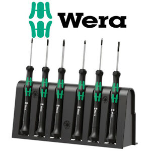 Wera WER118150 Kraftform 2035//6 Micro Screwdriver Set 6 Piece SL PH