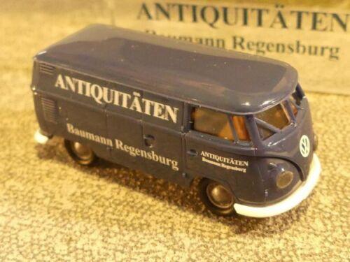 1//87 Brekina # 1941a VW t1 B antigüedades baumann azul oscuro precio especial 17,90 €