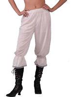 Ladies Steampunk Victorian Pantaloons Bloomers Fancy Dress Undergarment Adult