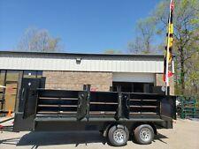 Iron Hog Bbq Barn Door Smoker 48 Inch Grill Trailer Food Truck Business Catering