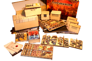 GLOOMHAVEN  Game Organiser -  Laser cut 3mm birchply - DIY KIT