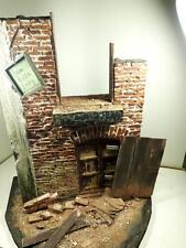 Doll house Berlin Ruins~ Scale 1:6 Pullip Blythe Momoko Monster Barbie