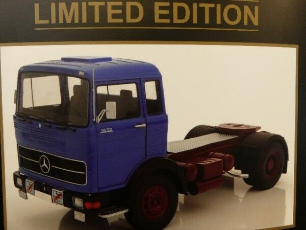 1 18 ROAD KINGS Mercedes MB LP 1632 1969 Bleu  rki80022  prix plancher