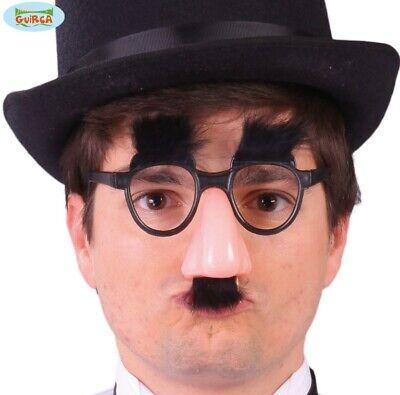 Candido Groucho Costume Occhiali, Naso, Sopracciglia & Tash Set Nuovo Fg- Senza Ritorno