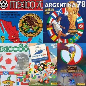 Tutti-i-FIFA-WORLD-CUP-PANINI-Album-dal-Messico-1970-a-2018-In-PDF-CALCIO