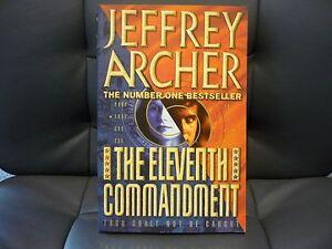 JEFFREY-ARCHER-THRILLER-THE-ELEVENTH-COMMANDMENT-BUY-IN-BULK-CUT-POST-COSTS