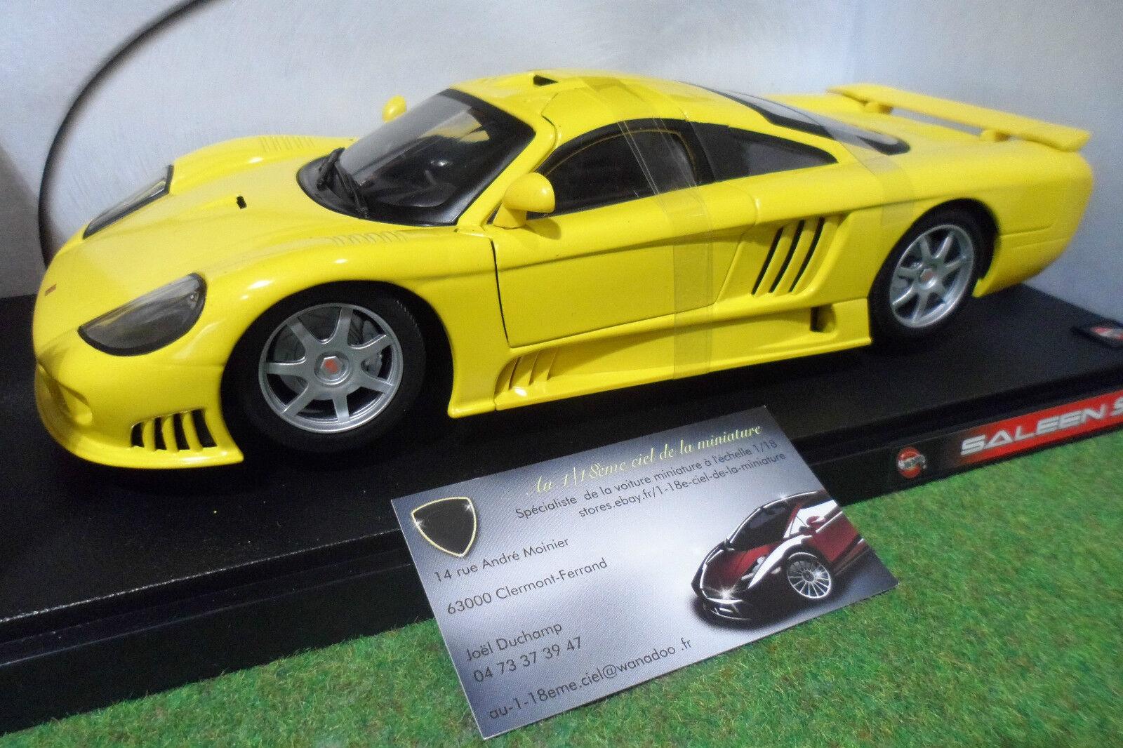 SALEEN S7 Jaune à l'échelle 1 18 HOT WHEELS 57302 voiture miniature