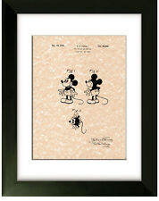 United States Patent Office Print Mickey Mouse Walt Disney 1930