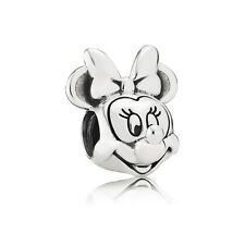 Authentic Pandora Charm Sterling Silver 791587 Minnie Portrait Disney Bead