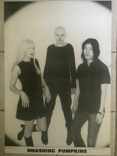 Smashing Pumpkins Band Shot Black /& White UK Import Poster 23 X 35