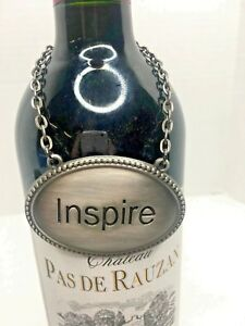 Image is loading WINE-BOTTLE-CHARMS-SHARE-MEMORIES-AND-INSPIRE-PEWTER- 5ff2660ee0