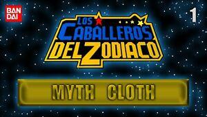 1 Multi-Anuncio CABALLEROS del ZODIACO de Saint Seiya de Bandai Myth Cloth