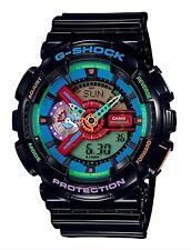Casio G Shock *GA110MC-1A Anadigi Multi Color Dial Black Gshock COD PayPal