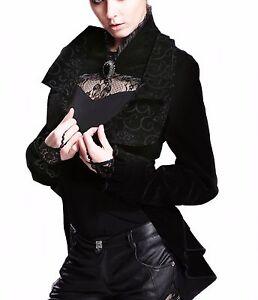 Kost me damen festliche jacke blazer frack gothic lolita for Festliche blazer damen