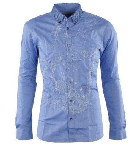 MOSCHINO FALDA CAMISA AZUL Camiseta Azul Camisa Bleu 03077
