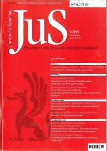 JuS-Juristische-Schulung-5-2019-Zeitschrift-fuer-Studium-und-Referendariat
