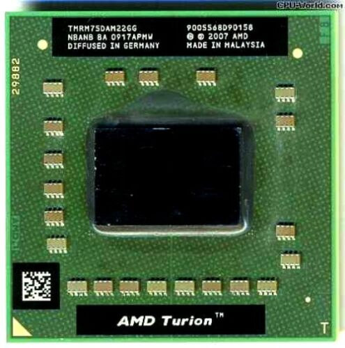 AMD TURION 2.2GHz CPU Processor TMRM75DAM22GG HP Pavillion DV4 DV7-1245DX 1225DX