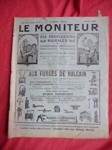 Le Moniteur Des Professions Rurales 1926 Charronnage Mécanique Fourgon Berliet Obzqfykn-07163826-806273671