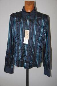 KIWI-Chemise-Bleu-raye-Taille-XL-neuf