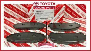 2016 2017 For Toyota Highlander Front Ceramic Brake Pads