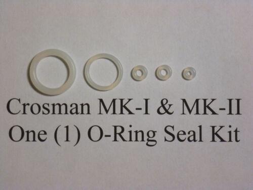 Guide /& Exploded View Crosman Mark I Mark II MK 1 2 URETHANE Seal Reseal Kit