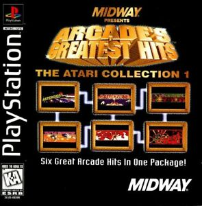 Arcade-039-s-Greatest-Hits-Atari-Collection-1-PS1-Great-Condition-Fast-Shipping
