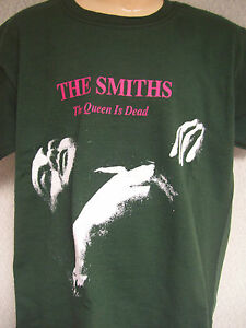 8ae166a931f0 KIDS CHILDRENS THE SMITHS T SHIRT IN GREEN 'THE QUEEN IS DEAD' | eBay